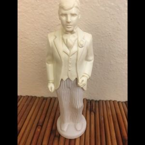 Vintage Avon Proud Groom Decanter